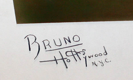 Bruno of Hollywood Dramatic posed Still Andrews Sisters Jazz Big Band